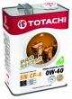TOTACHI Gasoline Ultima EcoDrive PAO Synthetic SN/CF  0W-40  (4л.)